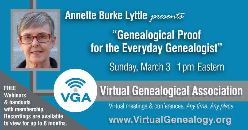 Webinar details for Annette Burke Lyttle