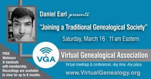 Webinar Details for Daniel Earl