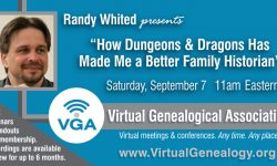 Date and time for Randy Whited's September 7th Webinar.