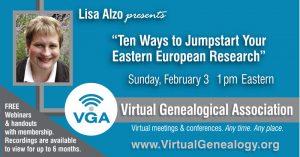February 3rd Webinar with Lisa Alzo