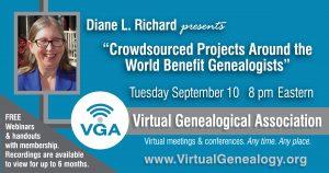genealogy webinar
