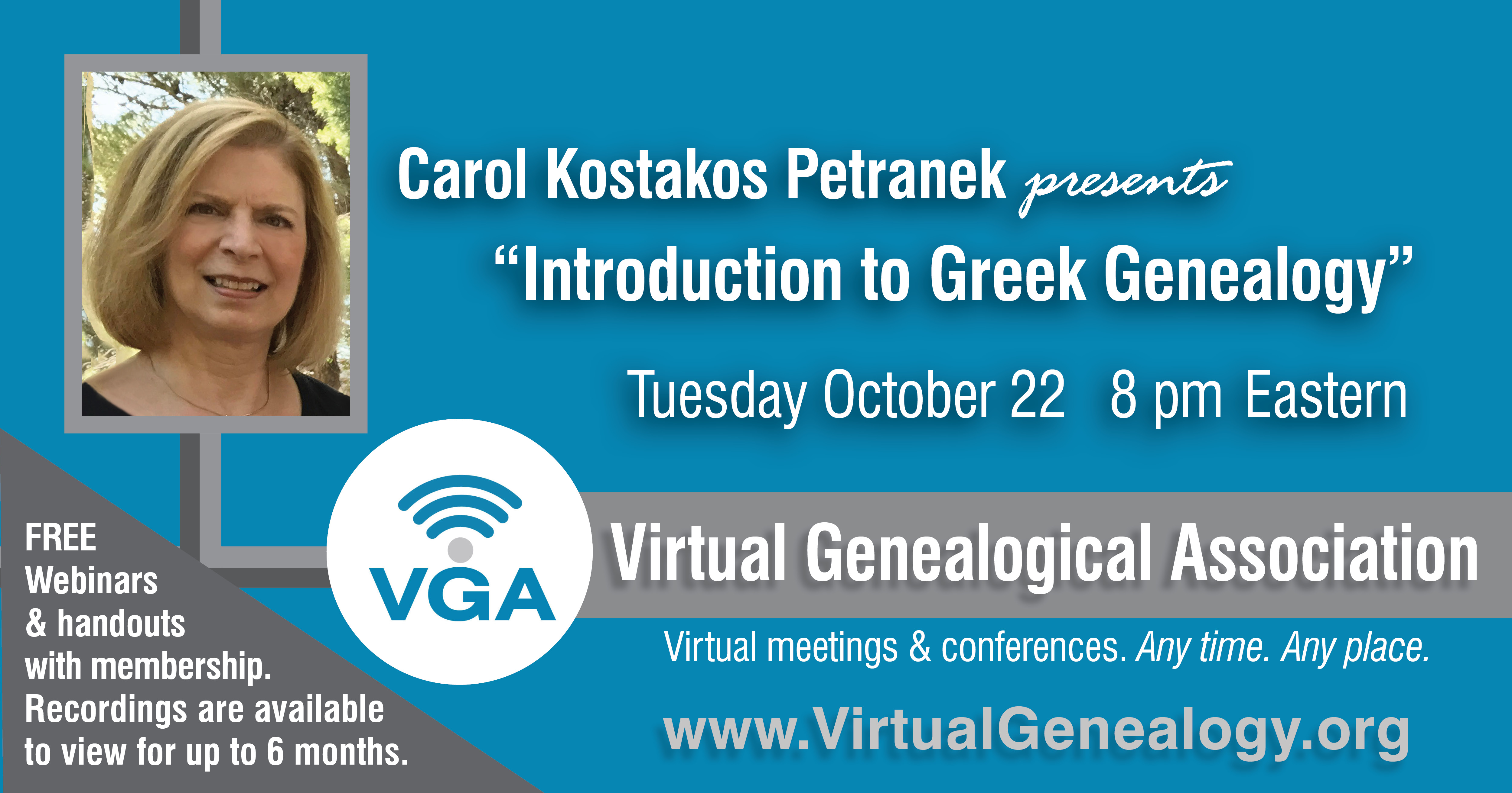 genealogy webinars